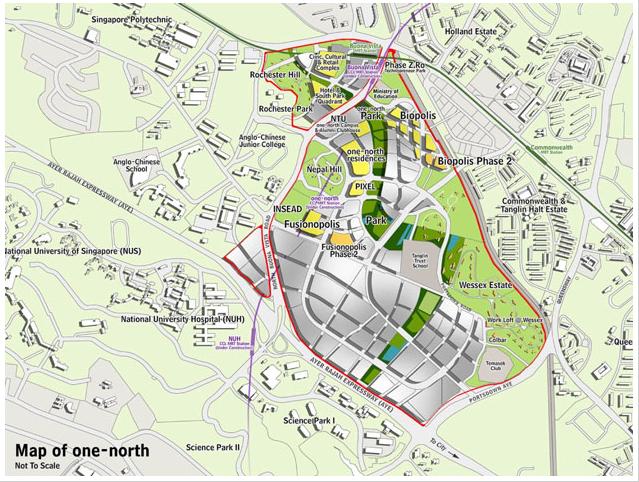 New Urban Precincts VI – one north Singapore Dream Of A City - Dream House Plan