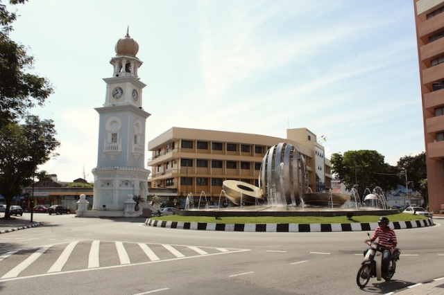 Clock Tower, presented in 1902 to Penang by the Honorable Cheah Chen Eok Esq. to commemorate Her Majesty Queen Victoria's Diamond Jubilee.