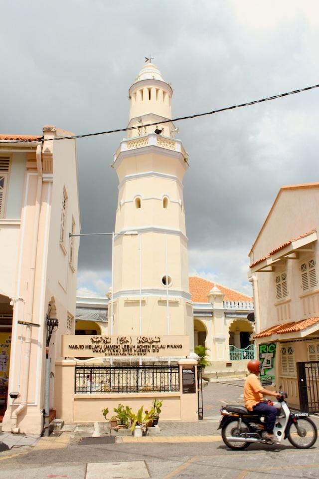 Acheen Mosque, Lebuh Acheh.