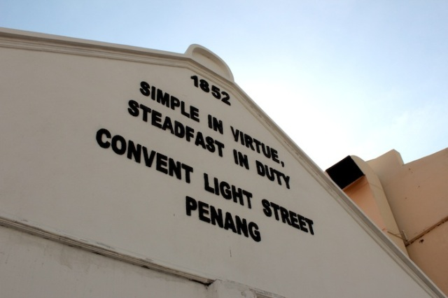 Colonial Values: Light Street Convent for Girls, founded 1852.