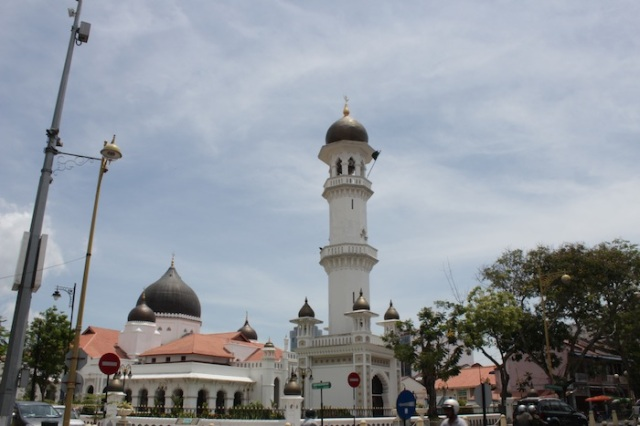 Masjid Kapitan Keling, after which Jalan Masjid Kapitan Keling is named.
