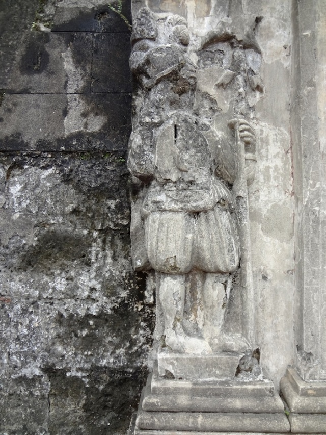 Relief of Spanish colonial guard, Fort Santiago