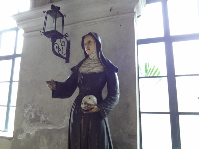 More religious statuary.