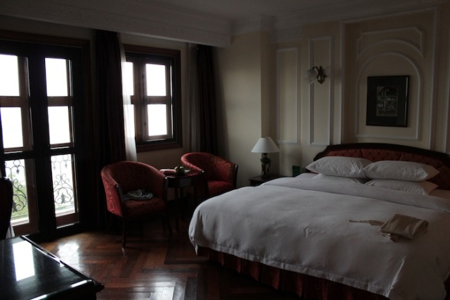 The Colonial River View Deluxe Room.
