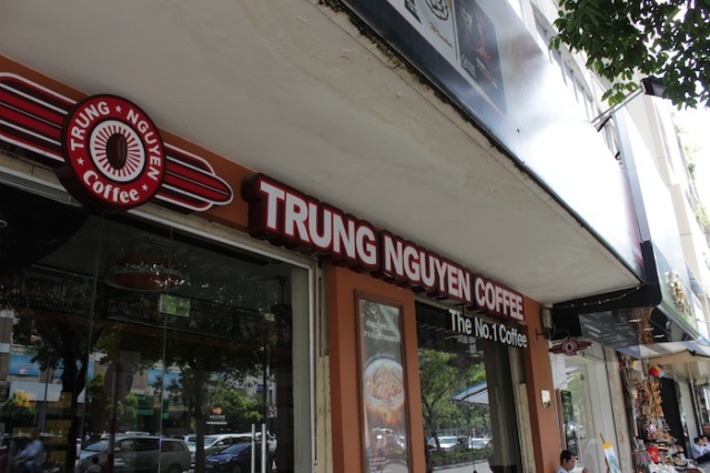 Trung Nguyen Coffee – quite literally No. 1, in my opinion.