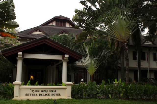 The Settha Palace Hotel, channeling the Raffles Hotel(s).