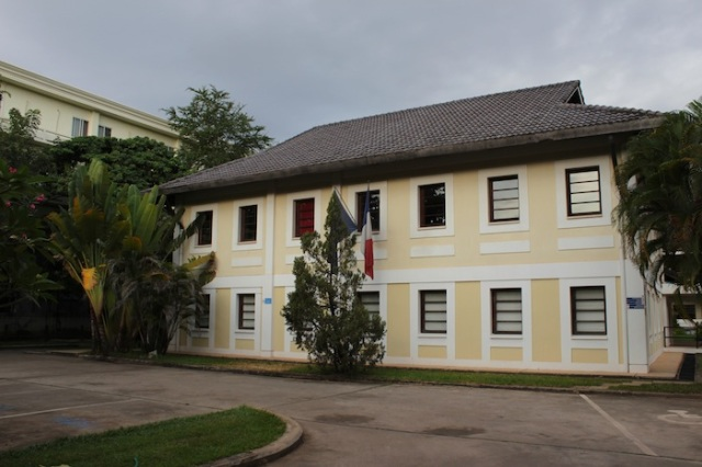 L'institut de Langue Francaise, on Lane Xang Avenue