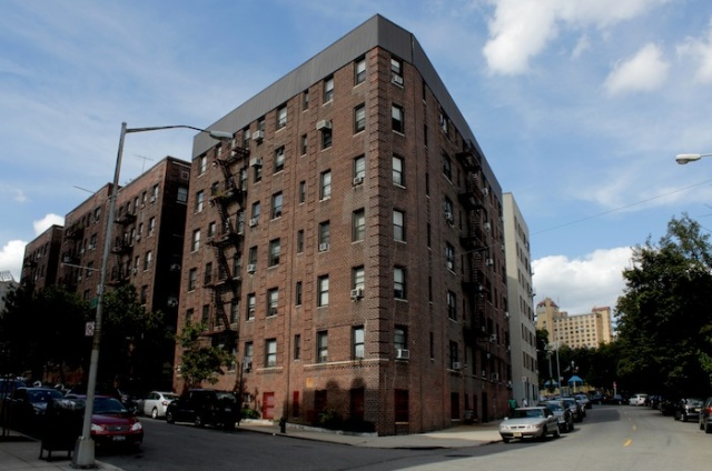 Fig. 1 – Apartments on Laurel Hill Terrace.