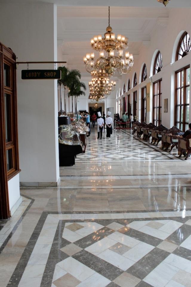 The hotel's ante-lobby