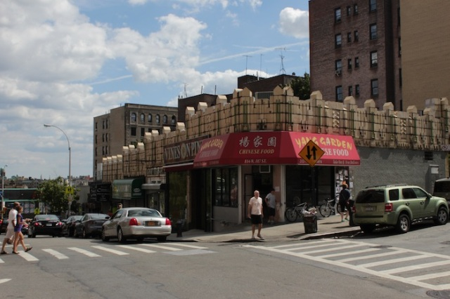 Fig. 18 – Chinese Food, in an old Art Deco Building.