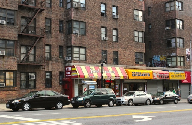 Fig. 2 - The Golan Heights, on Amsterdam Ave.