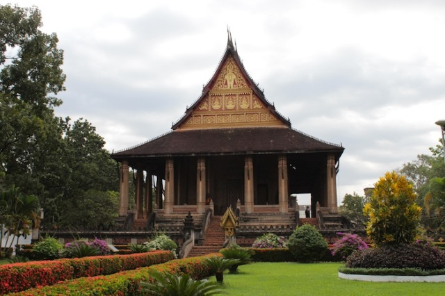 Wat Hophrakaew: razed to the ground by the Siamese in 1828; rebuilt by the French colonial authorities in 1942.