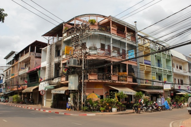 1960s apartments, channeling Phnom Penh.