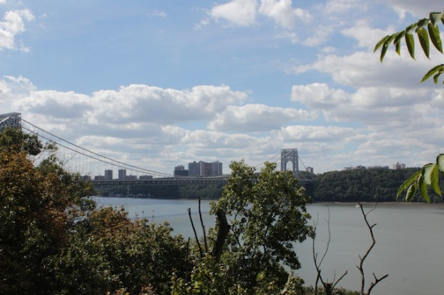 Fig. 22 – View towards George Washington Bridge.