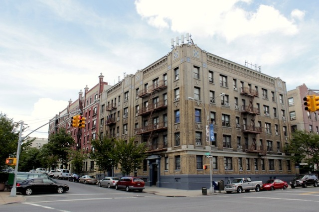 Fig. 3 – Historic apartment buildings across from Yeshiva University