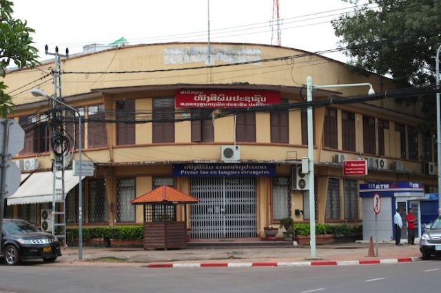 Foreign Press in Laos, Thanon Setthathirat.
