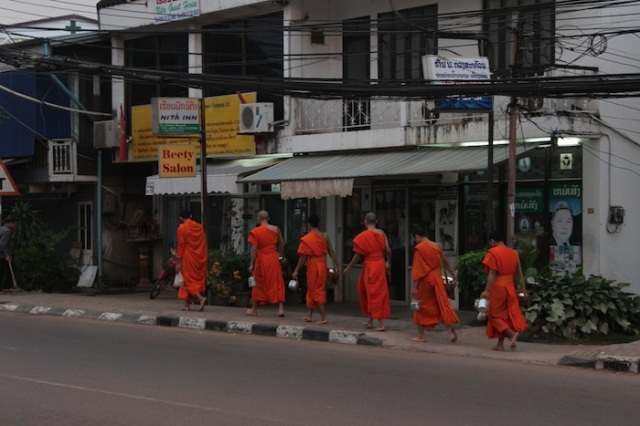 Novice monks.