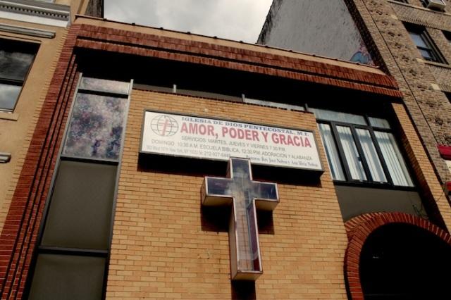 Fig. 7 – Iglesia de Dios Pentecostal, also across from Holy Cross Church.