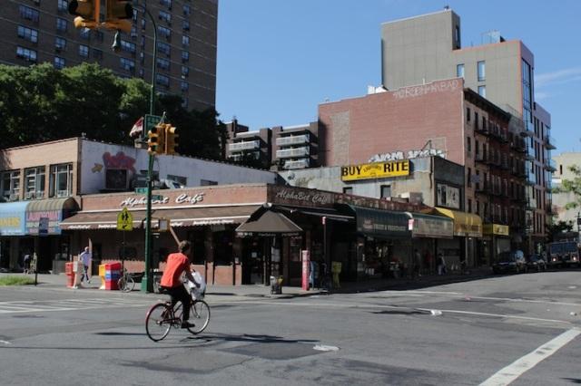 3 – Junction of Avenue B, southside: AlphaBet Café.