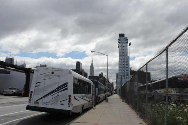2 – View from 12th Ave towards the Empire State Building and the ohm Tower.