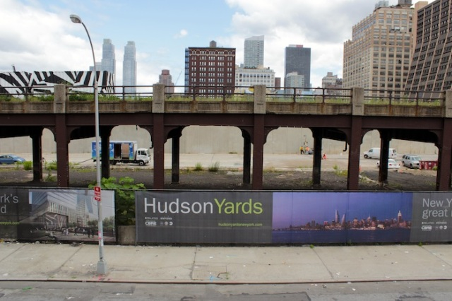 4 – Artist impressions for the Hudson Yards development.
