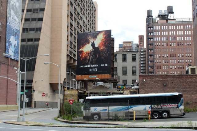 5 – The Dark Knight Rises in Gotham.