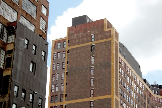 7 – The American Book Bindery Building, now a student dorm for the Fashion Institute of Technology.