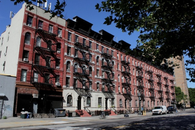 8 – South of the border: Historic Tenements, built in 1890 as one of the first large-scale housing developments for immigrants.