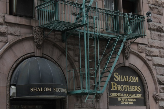 28 – No. 284 5th Avenue: Shalom Brothers Oriental Rug Gallery.