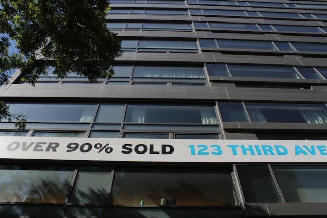 23 – The story of contemporary New York is the story of Big Capital.  Here is a brand new development that has seen over 90% sales of units.