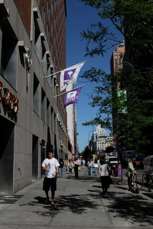 25 – NYU Student Dorm built on the site of The Palladium, a popular 1980s nightclub.