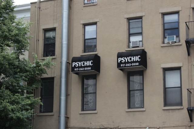46 – Psychic in residence.