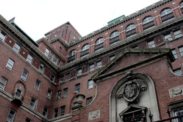 48 – The infamous and forbiddingly Dickensian Bellevue Psychiatric Hospital.