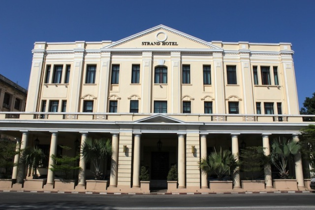 The Strand Hotel, Yangon.