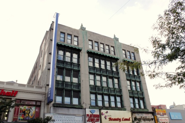 18 -  The Touro College of Osteopathic Medicine Building. This was formerly the Blumstein Department Store, where Martin Luther King Jr was stabbed in 1958 by a deranged black woman while signing copies of his book Stride Toward Freedom.