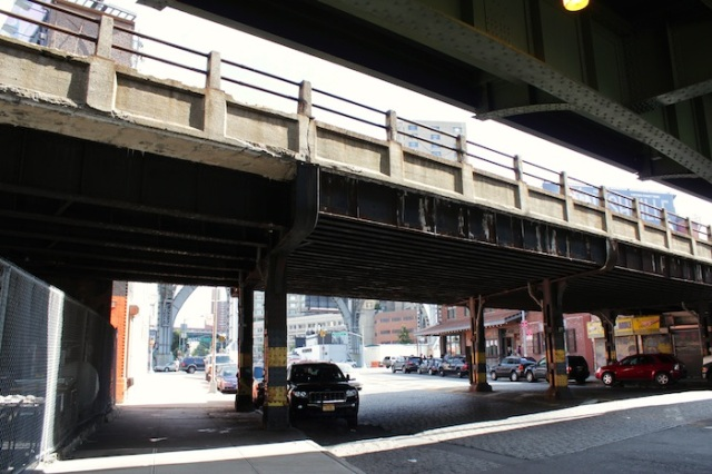2 – Henry Hudson Parkway. Eerily reminiscent of the High Line.