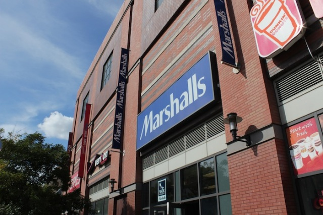 22 – Marshall's Department Store, and Dunkin' Donuts.