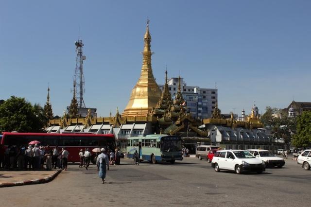 Sule Pagoda.