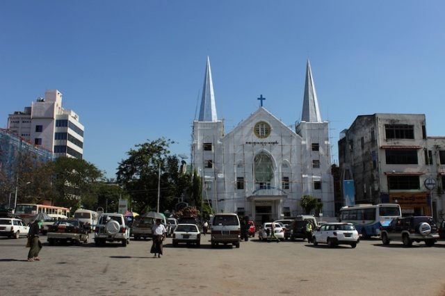 Immanuel Baptist Church, Mahabandoola Garden Street.