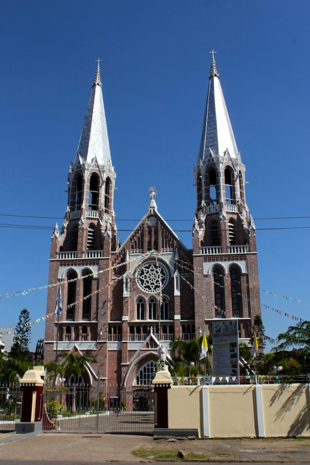 St Mary's Cathedral, Bo Aung Kyaw Street.