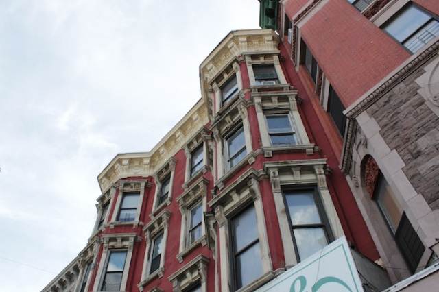 27 – Elegant turn-of-the-century apartment buildings.