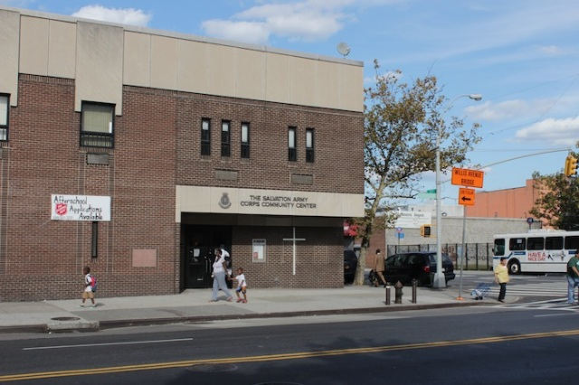 35 – The Salvation Army Corps Community Center, 3rd Avenue.