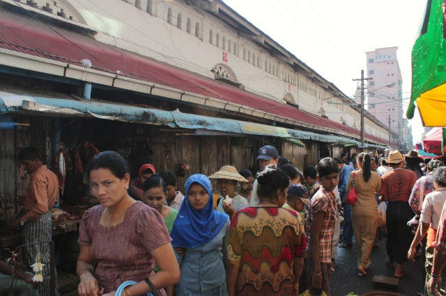 The old market, and the many diverse peoples and religions on display, on a single morning.