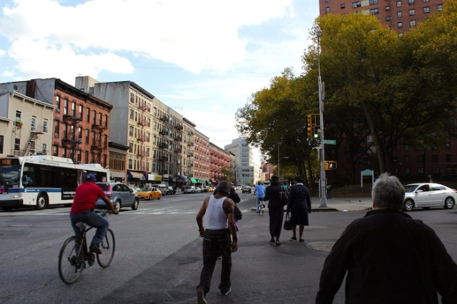 7 – Junction of Amsterdam Avenue, with the General Ulysses S. Grant houses to the right.