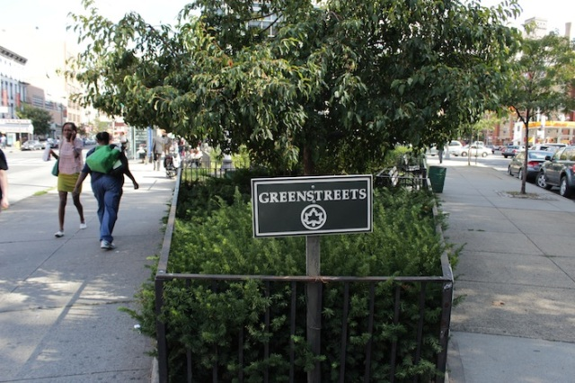 8 – Greenstreets, a small park occupying tiny Hancock Place.