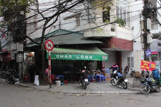 A roadside foodstall.