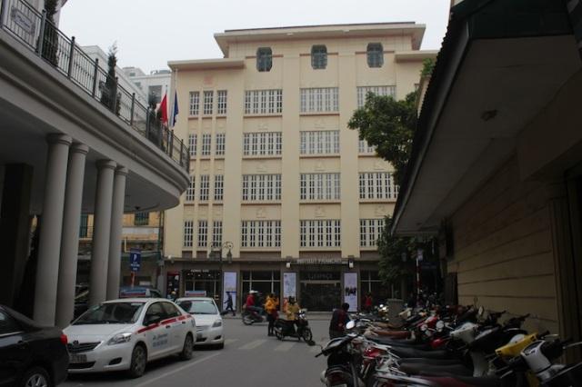 L'Institut Francais, Tràng Tiền.