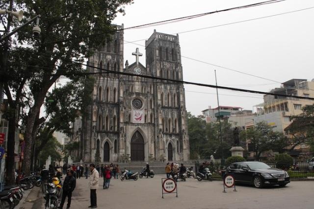 Saint Joseph's Cathedral.