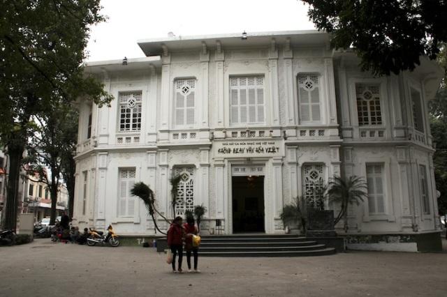 Nhà hát ca múa nhạc nhẹ Việt Nam.