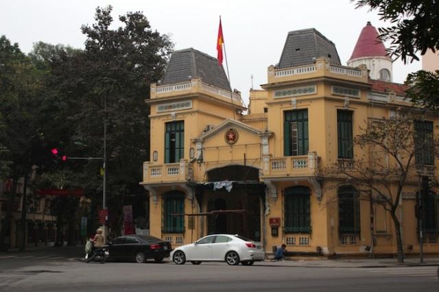 Police Building.